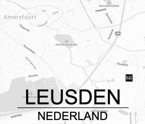 Locatie KAS in Leusden